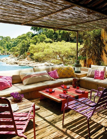 5 Favorite Outdoor Spaces for Sacred Living Dining