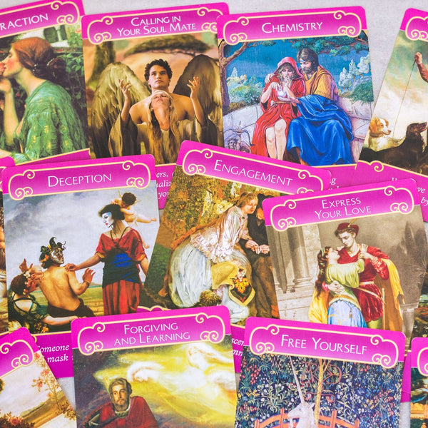 psychic oracle angel card readings twin flames soul mates love romance work relationship