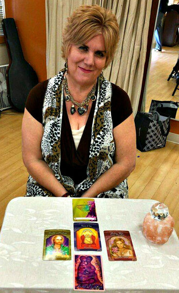 Rev. Marie Blackstock, Angel Card Oracle Reader - Psychic Twin Flame