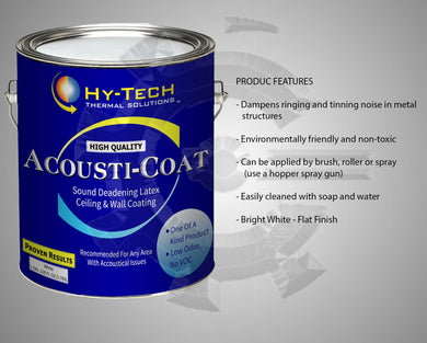 Acousti Coat - Sound Deadening Paint