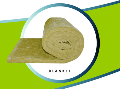 Generic Mineral Wool Blanket (1 SIDED FOIL)