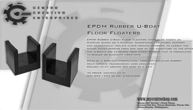 Rubber Joist Isolator and Floater