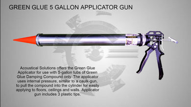 Green Glue Compound or Sealant Applicator