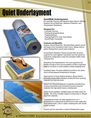 Super Quiet Felt Underlayment Heavy Duty 3mm Padding with Vapor Barrier & Tape-Emerald Green
