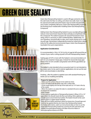 Green Glue Sealant