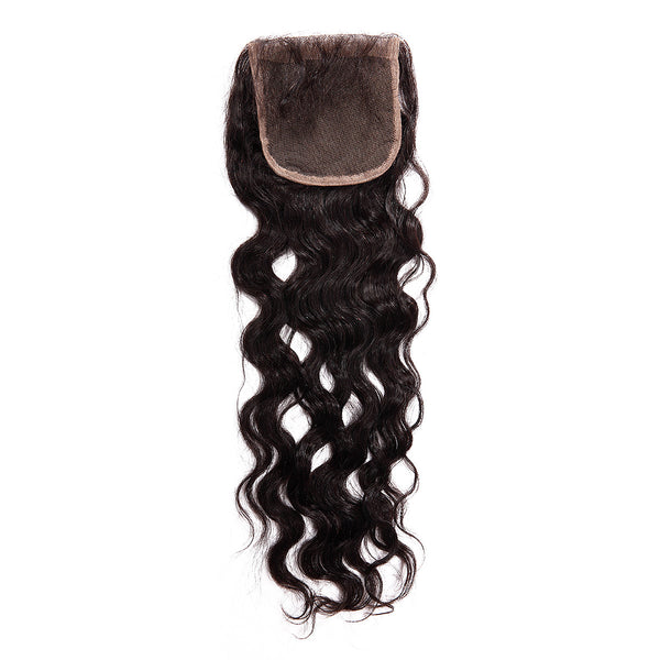 Natural Wave Hair 4X4 Closure