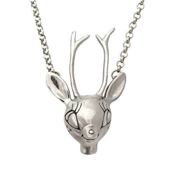 1950's Deer Necklace
