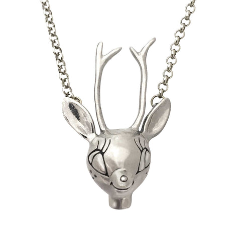 Standing Deer Necklace