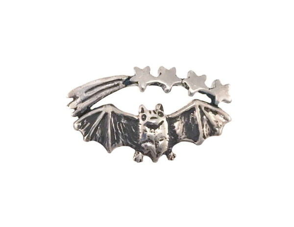 Bat & Shooting Stars Ring