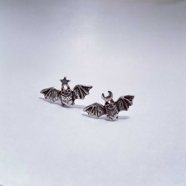 Bat Stud Earrings- Ready to Ship