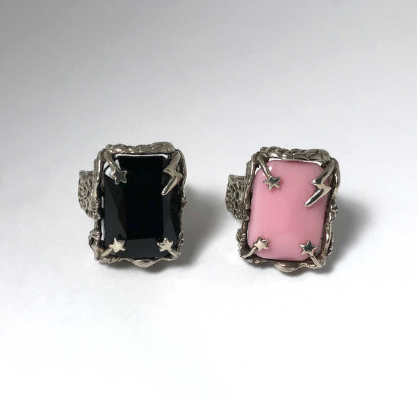 Bowie Ring in Pink