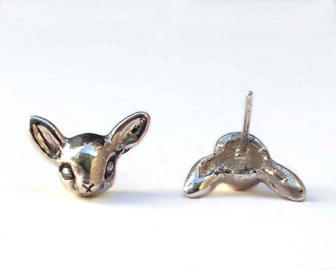 Bat Ear Jackets Earrings
