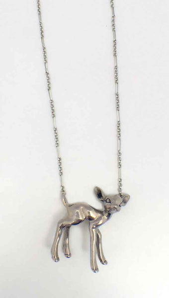 Standing Deer Necklace - Anomaly Jewelry