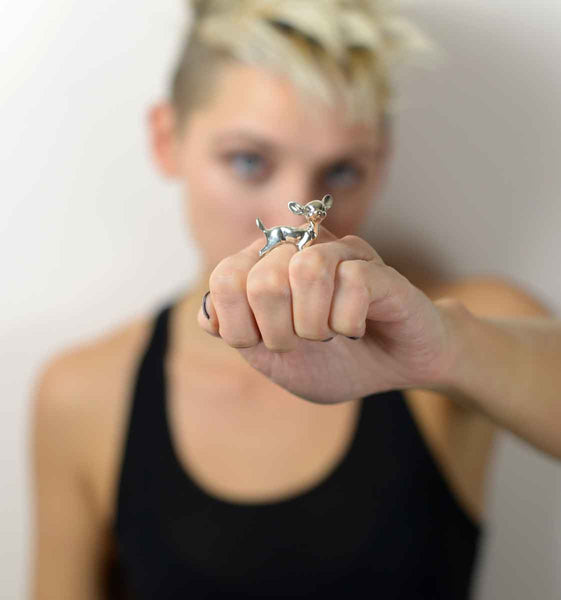 Deer Ring - Anomaly Jewelry