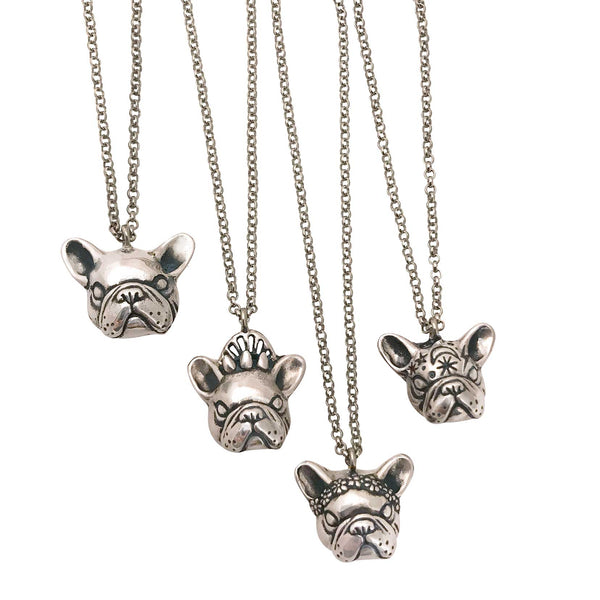 Mystic French Bulldog Necklace