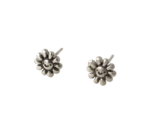 Happy Flower Stud Earrings