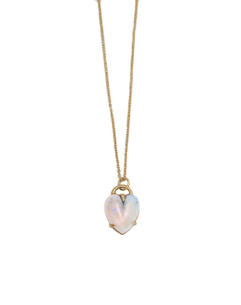 Heart Necklace Opal - Anomaly Jewelry