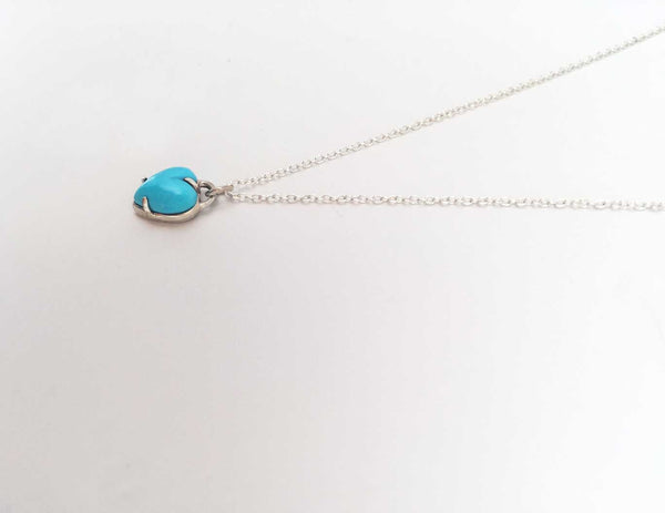 Heart Necklace Turquoise - Anomaly Jewelry