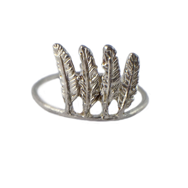 Itty Bitty Feather Ring