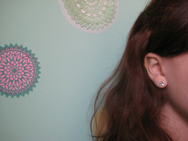 Itty Bitty Bow Earrings