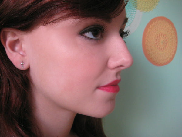Itty Bitty Sword Earrings - Anomaly Jewelry