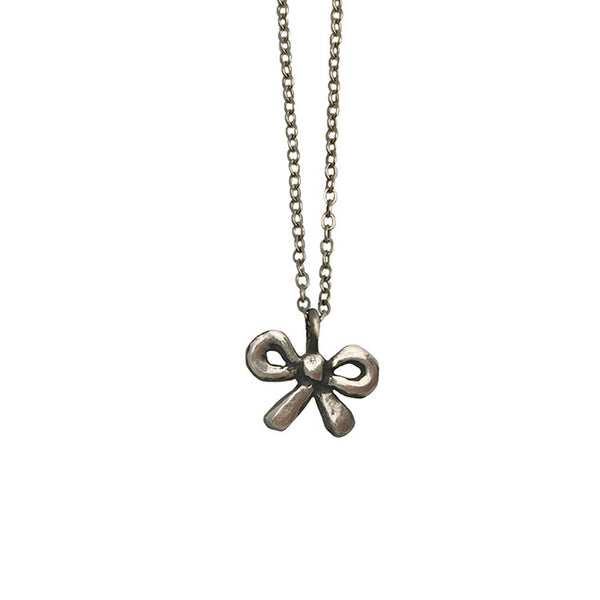 Itty Bitty Bow Necklace - Anomaly Jewelry