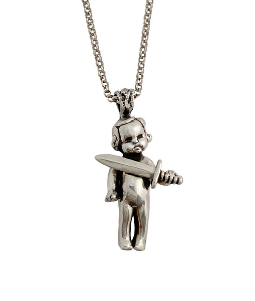 Knife Baby Necklace