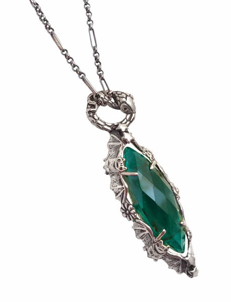 Marquise Necklace Emerald