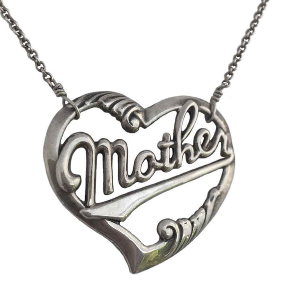 Mother Heart Necklace - Anomaly Jewelry