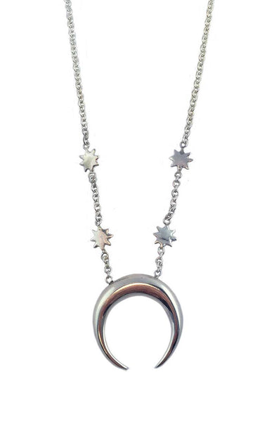 Crescent Moon Necklace - Anomaly Jewelry