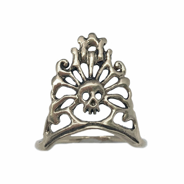 Skull Crown Ring - Anomaly Jewelry