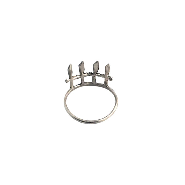 Crown of Swords Ring- Ready to Ship