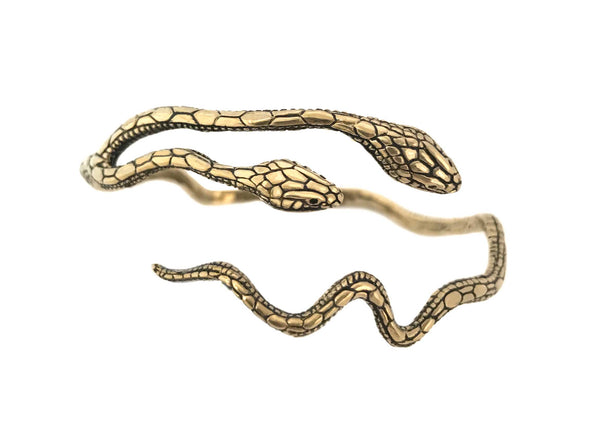 Headed Snake Bracelet- Ready to Ship