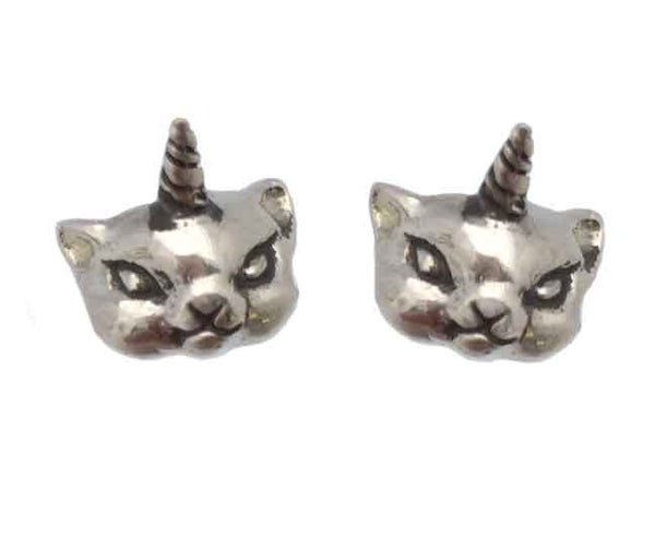 Caticorn Earrings - Anomaly Jewelry