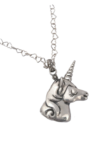 Unicorn Bubble Blower Necklace- Ready to Ship