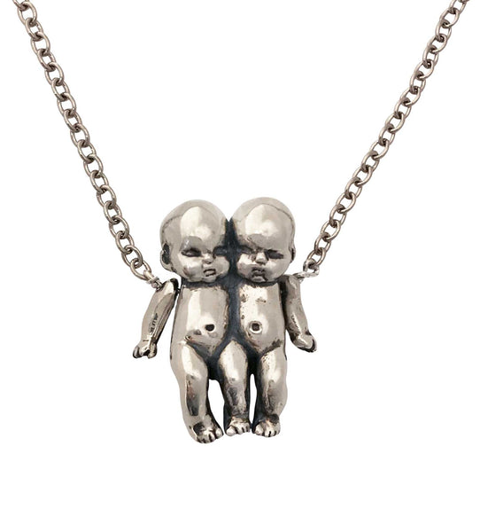 Zodiac Kids Gemini Necklace- Ready to Ship