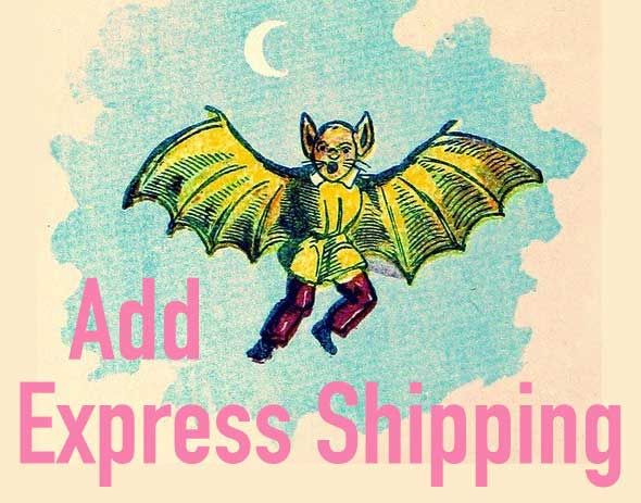 Add Express Shipping to your order