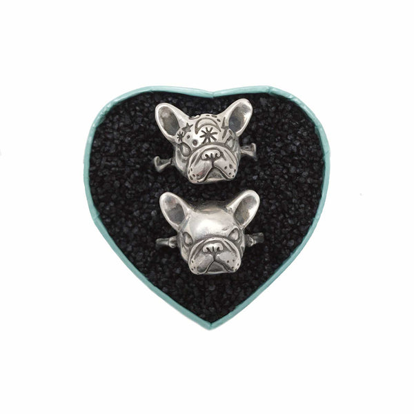 Mystic French Bulldog Ring