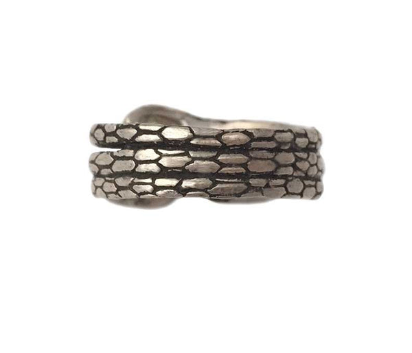 Snake Ring Coiled