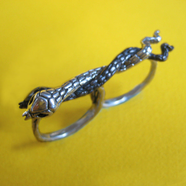 Two Finger Snake Ring - Anomaly Jewelry