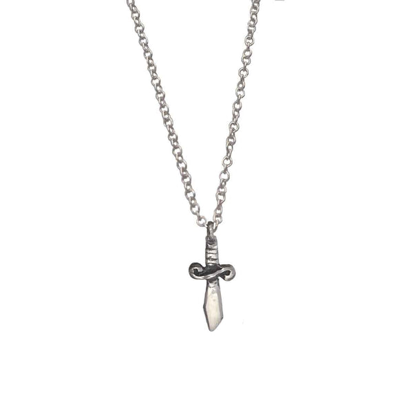 Itty Bitty Sword Necklace - Anomaly Jewelry