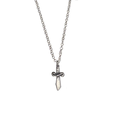 Itty Bitty Feather Necklace