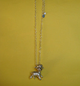 Lamb Necklace- Ready to Ship