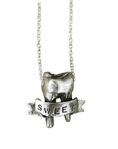 Deer and Lamb Ice Cream Necklace