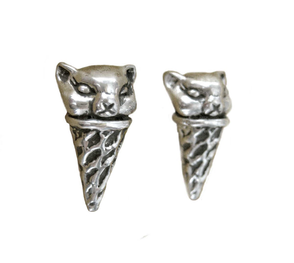 Scoop of Cat Earrings - Anomaly Jewelry