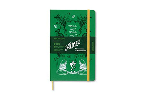 Moleskine Limited Edition Alice in Wonderland 12 Month 2020 Weekly Planner
