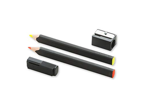 Moleskine Classic Highlighter Pencil Set w/Sharpener