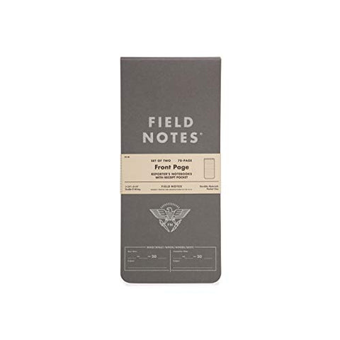 Field Notes: Front Page 2-Pack