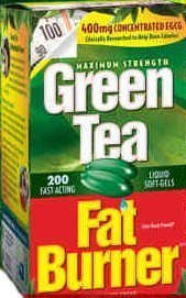 Green Tea Fat Burner, 200 softgels