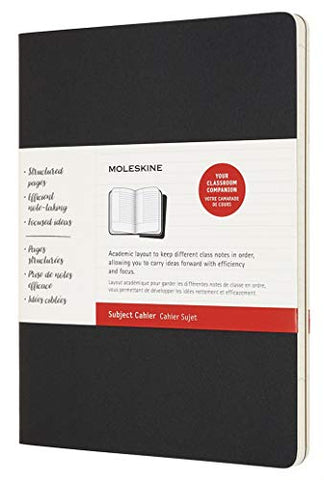 Moleskine Cahier Journal, Soft Cover, XL